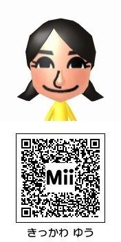 吉川友のMii QRコード トモダチコレクション新生活