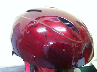 552673827 - 自転車用ヘルメット 2 ラップペイント&キャンディカラー