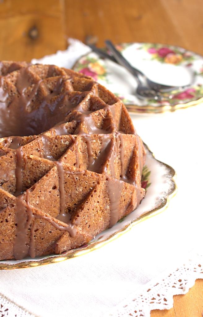 Bundt Cake Flecks Of Baking Chocolate