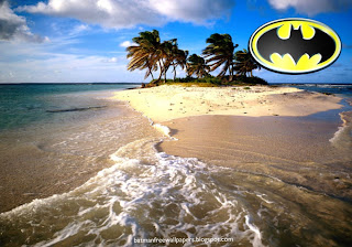 Desktop Wallpapers Batman Dark Knight Logo in Beautiful Island wallpaper
