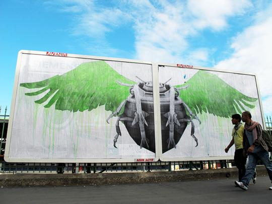 LUDO French Street Artist Paintings Seen On www.coolpicturegallery.us