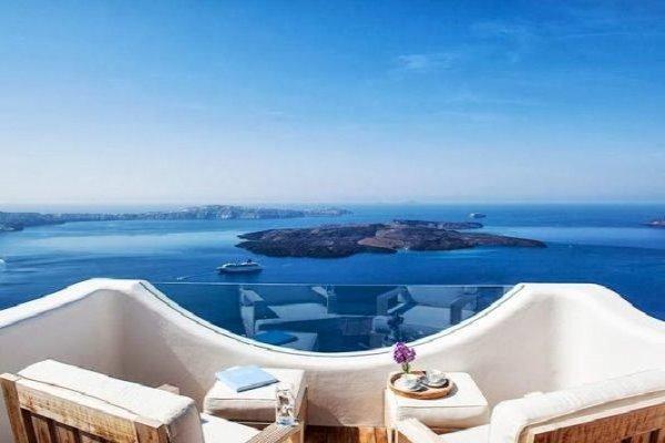 terraza islas griegas
