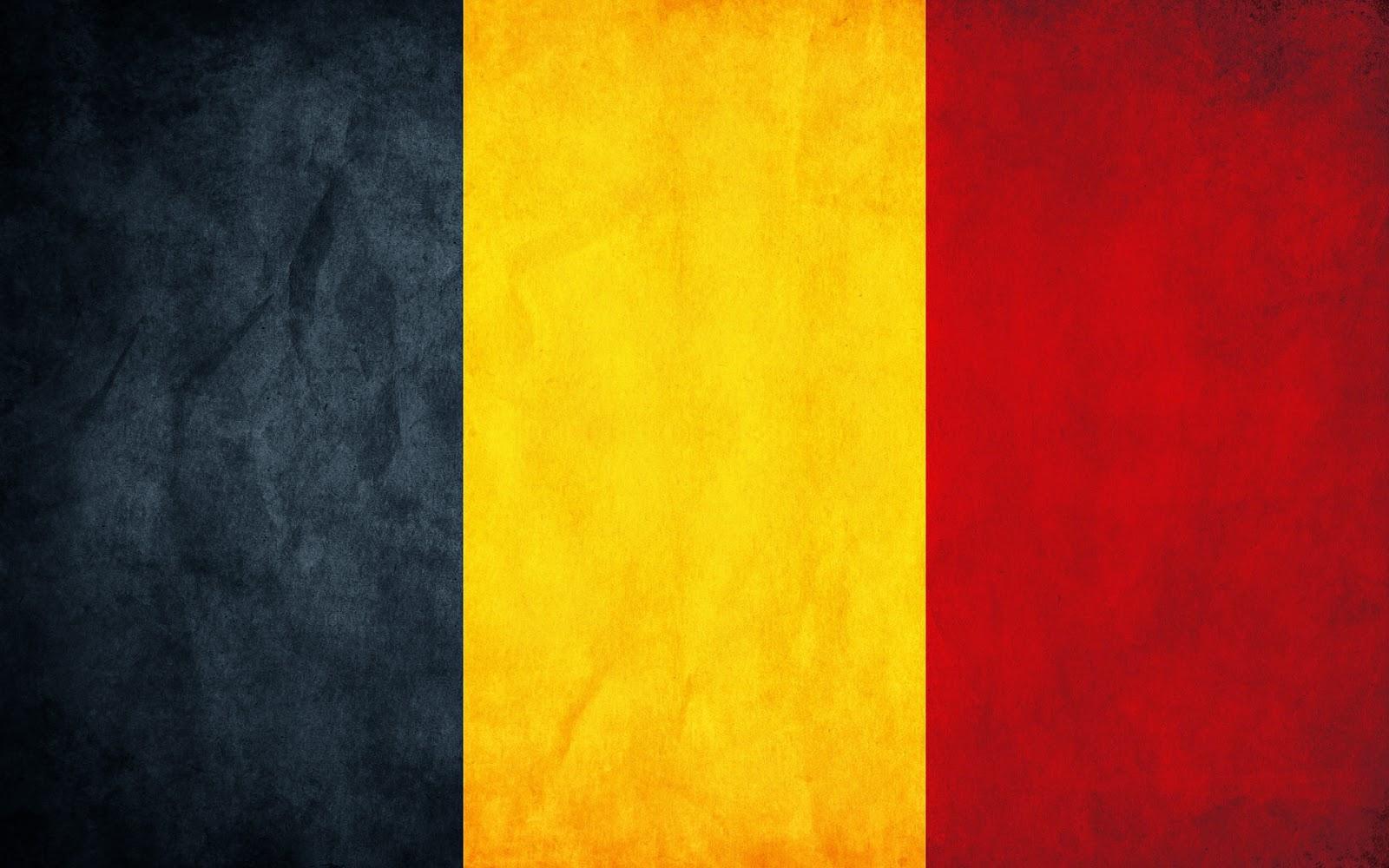 Normale vlag van België wallpaper