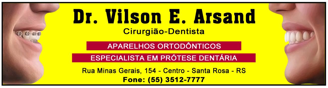 Dr. Vilson Eduardo Arsand - Cirurgião-Dentista - Santa Rosa - RS