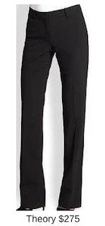 Sydney Fashion Hunter - She Wears The Pants - Theory Black Women's Work Pants