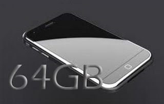 iphone 5, storage space, 64gb
