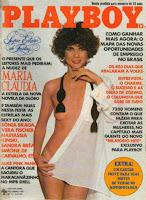 Confira as fotos da atriz Maria Cláudia, capa da Playboy de dezembro de 1981!