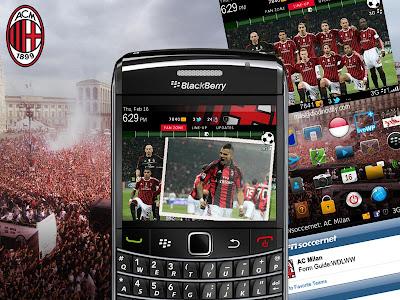 Theme AC Milan Untuk BlackBerry