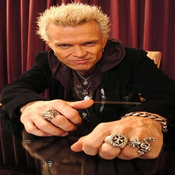 Vocalista - Billy Idol