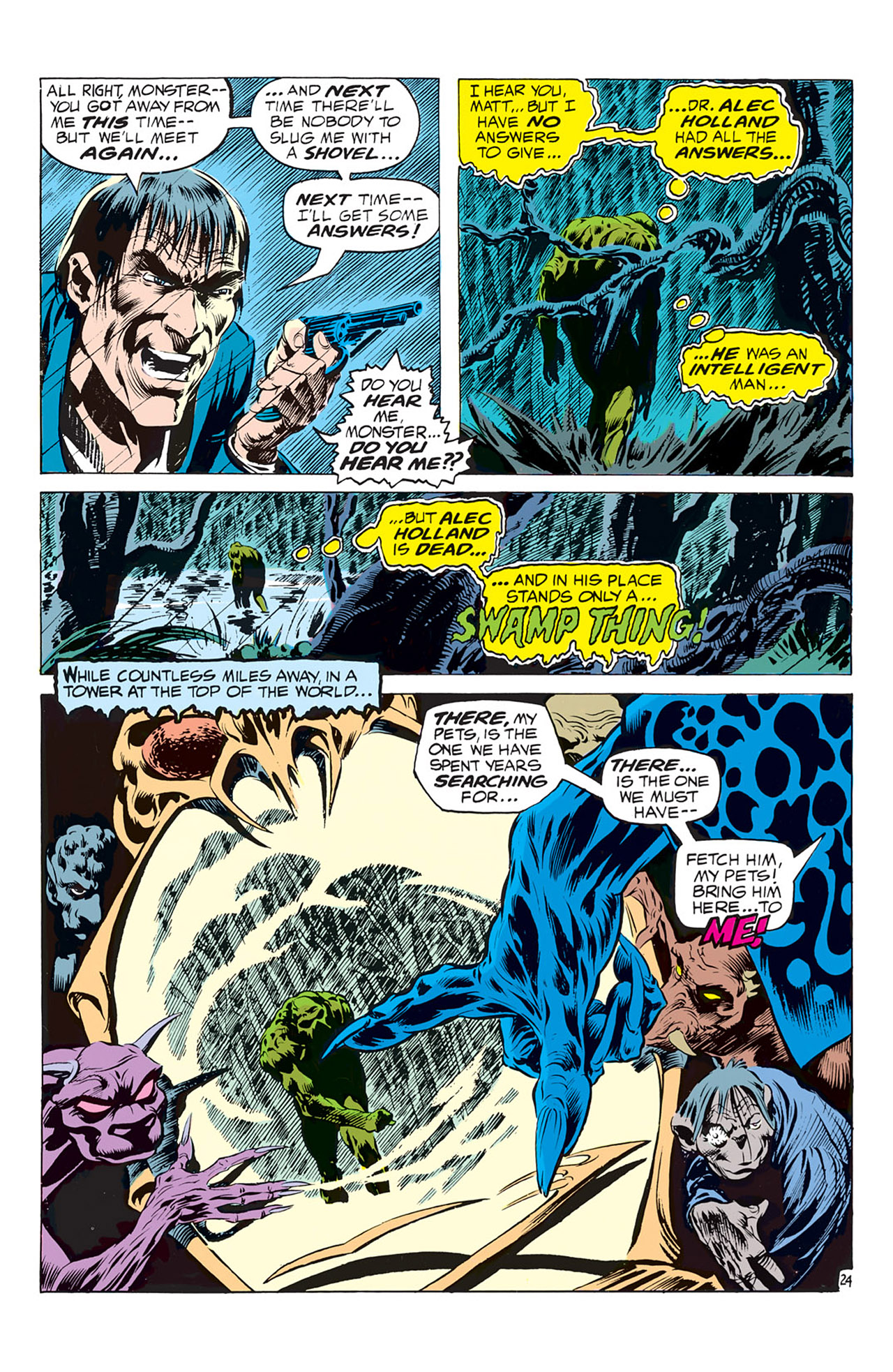Swamp Thing (1972) Issue #1 #1 - English 25