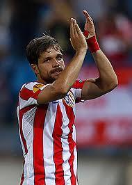 Diego Ribas, cuando militaba cedido en el Club Atlético de Madrid