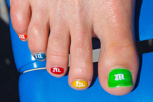 The Fascinating Easy cute nail designs for toe Photograph