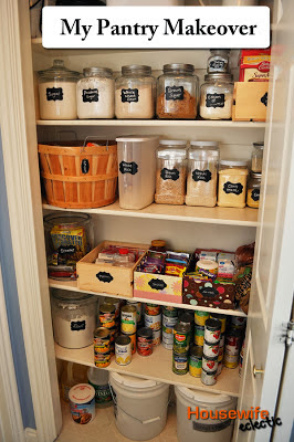 Pantry Redo, Getting Organized