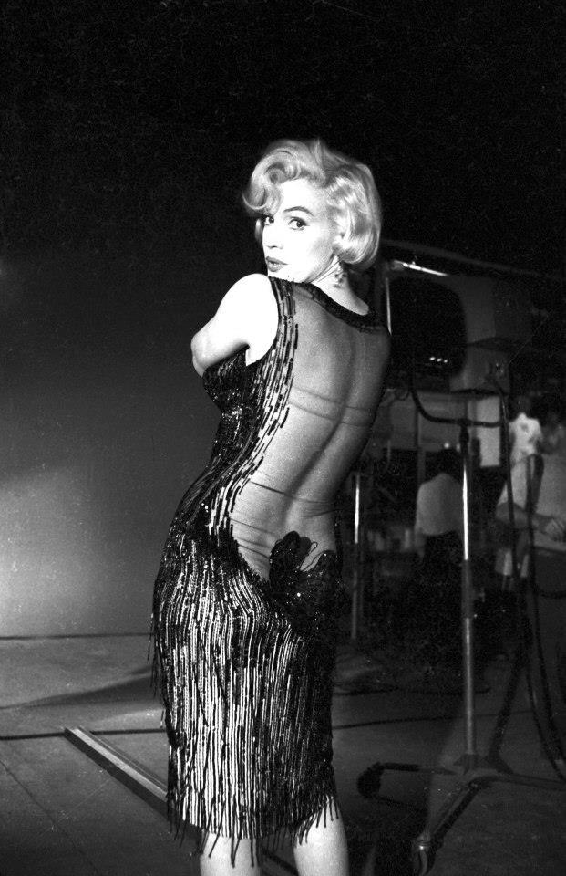 Photoshoot Of Marilyn Monroe In Some Like It Hot 1959