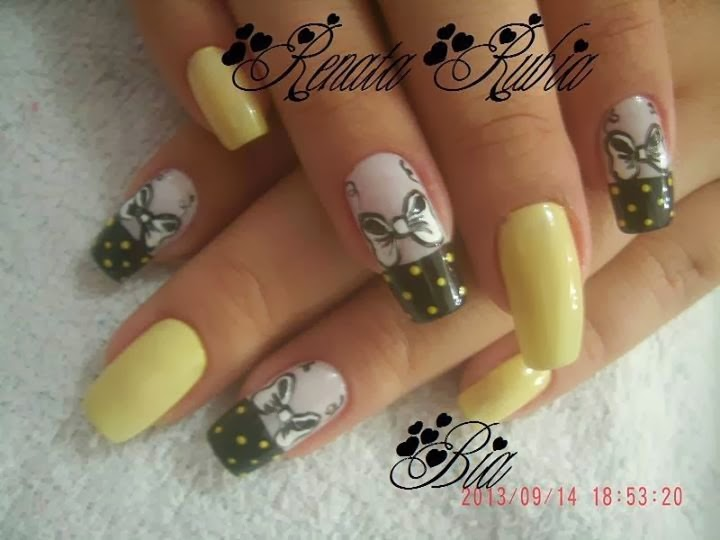Uñas Decoradas 2015; Uñas decoradas en Gel, Uñas decoradas en acrílico