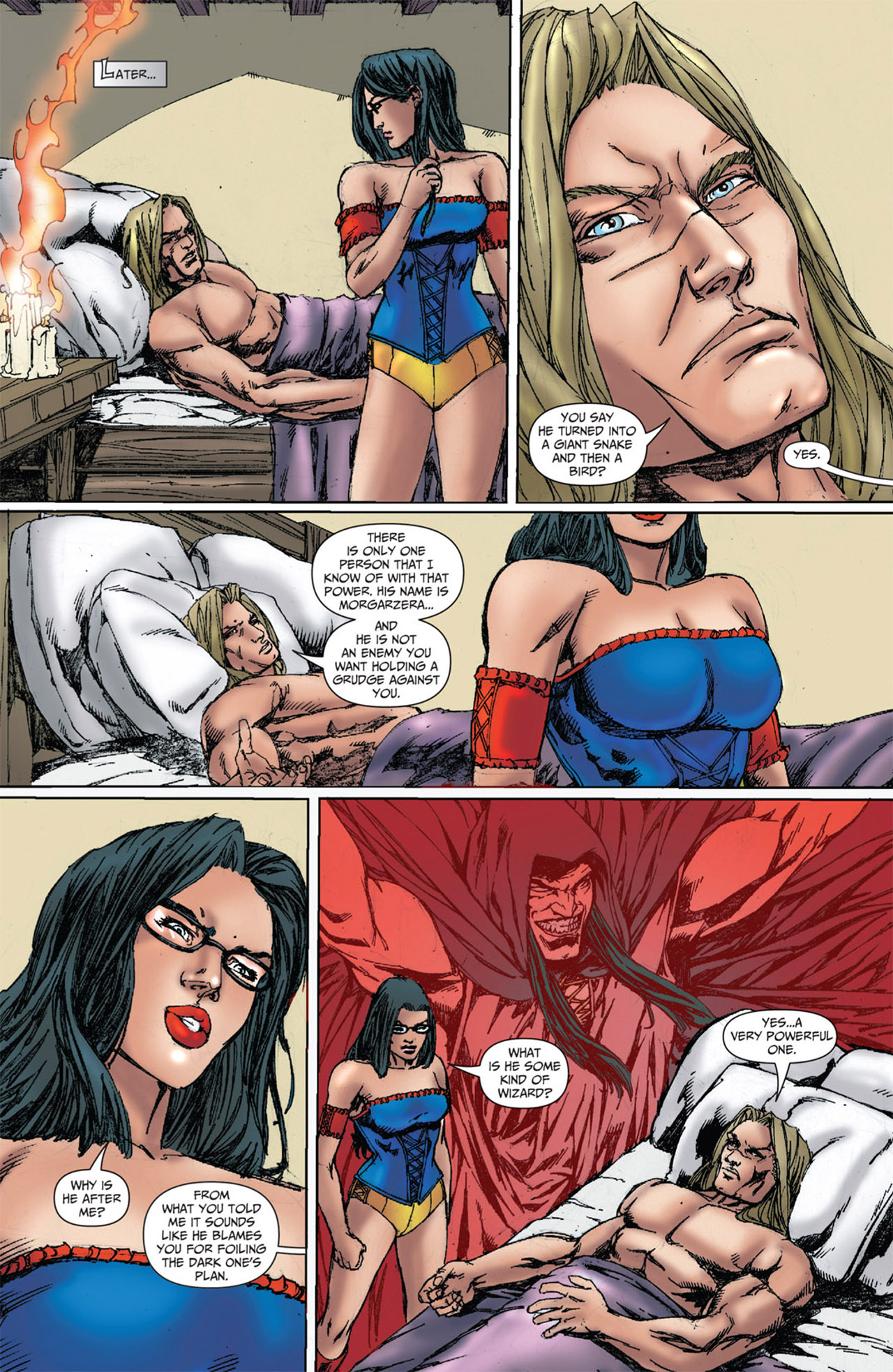 Grimm Fairy Tales (2005) Issue #51 #54 - English 22