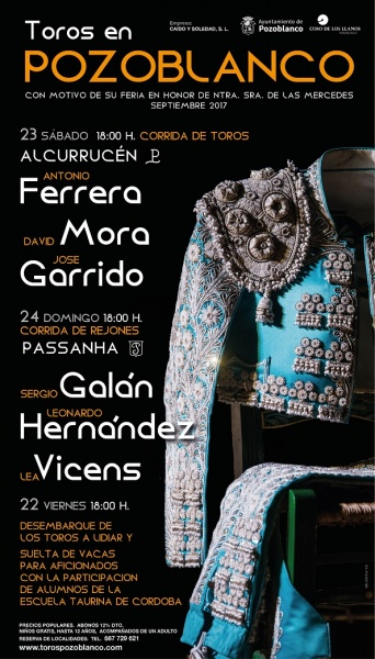 POZOBLANCO(ESPAÑA) 22 - 23 Y 24 DE SEPTIEMBRE 2017
