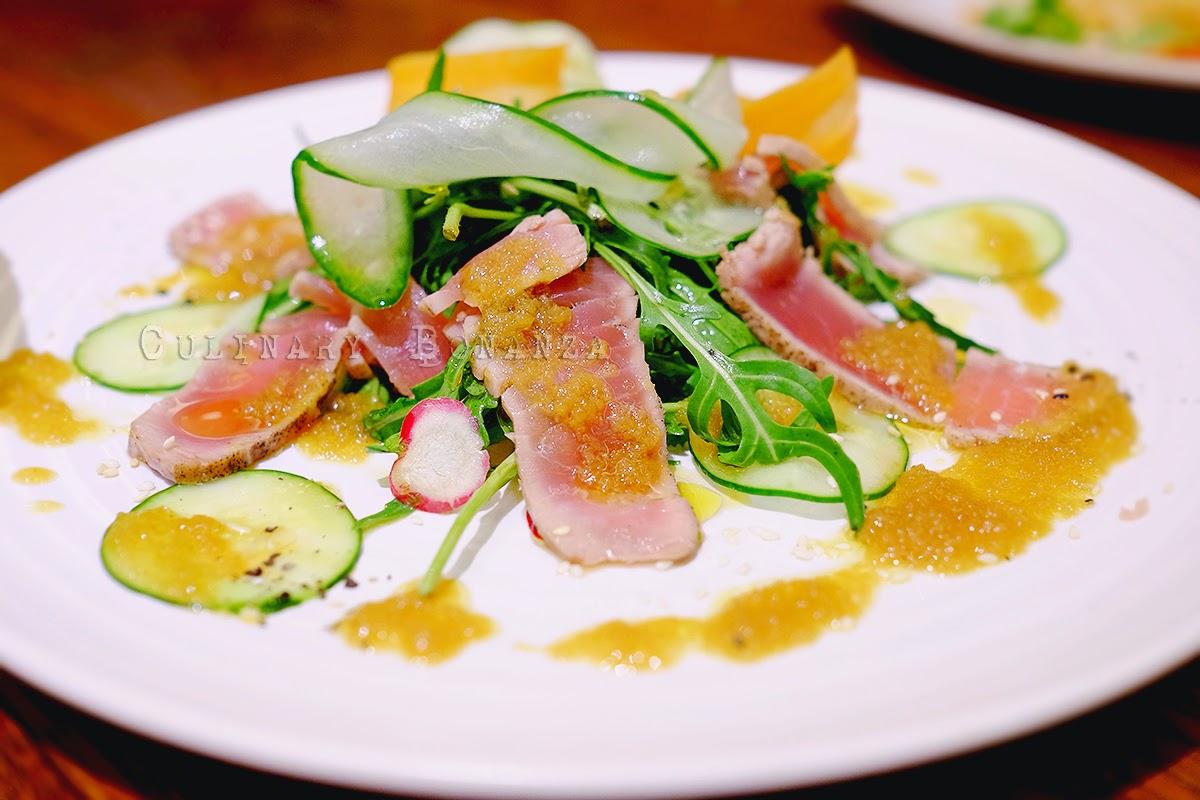 Tuna Salad with Japanese Radish Sauce