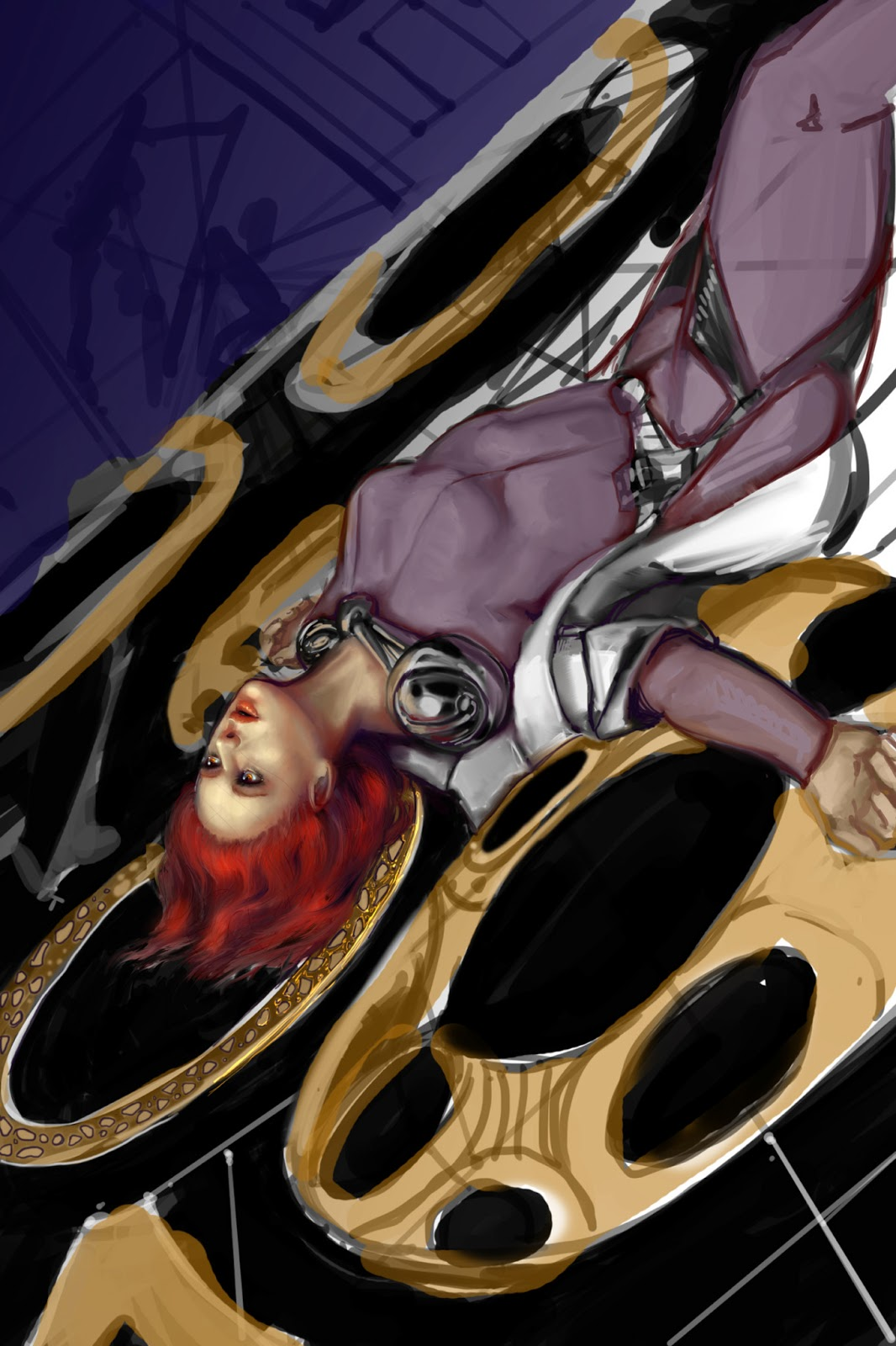 Ramblings of a creative double dipper may 2013 oh and heres a picture of the progress on the next books cover dont say i never gave yall anything d fandeluxe Gallery
