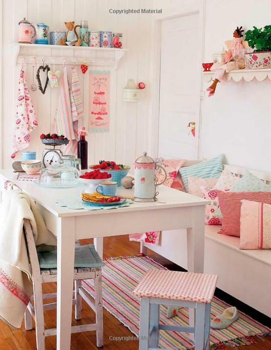 decoracao cozinha diy:Pastel Kitchen
