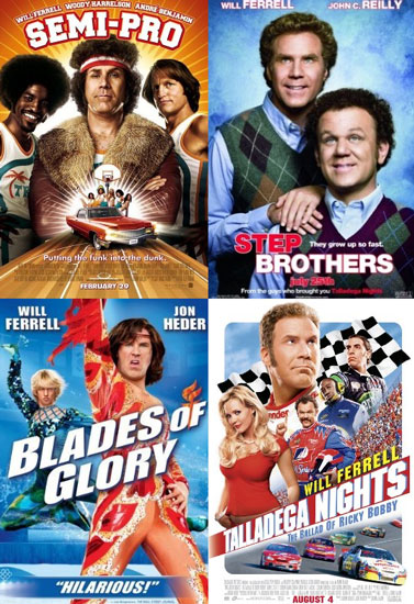 a collection of the best will ferrell movies rent movies
