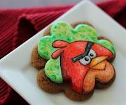 Angry Bird Cookie