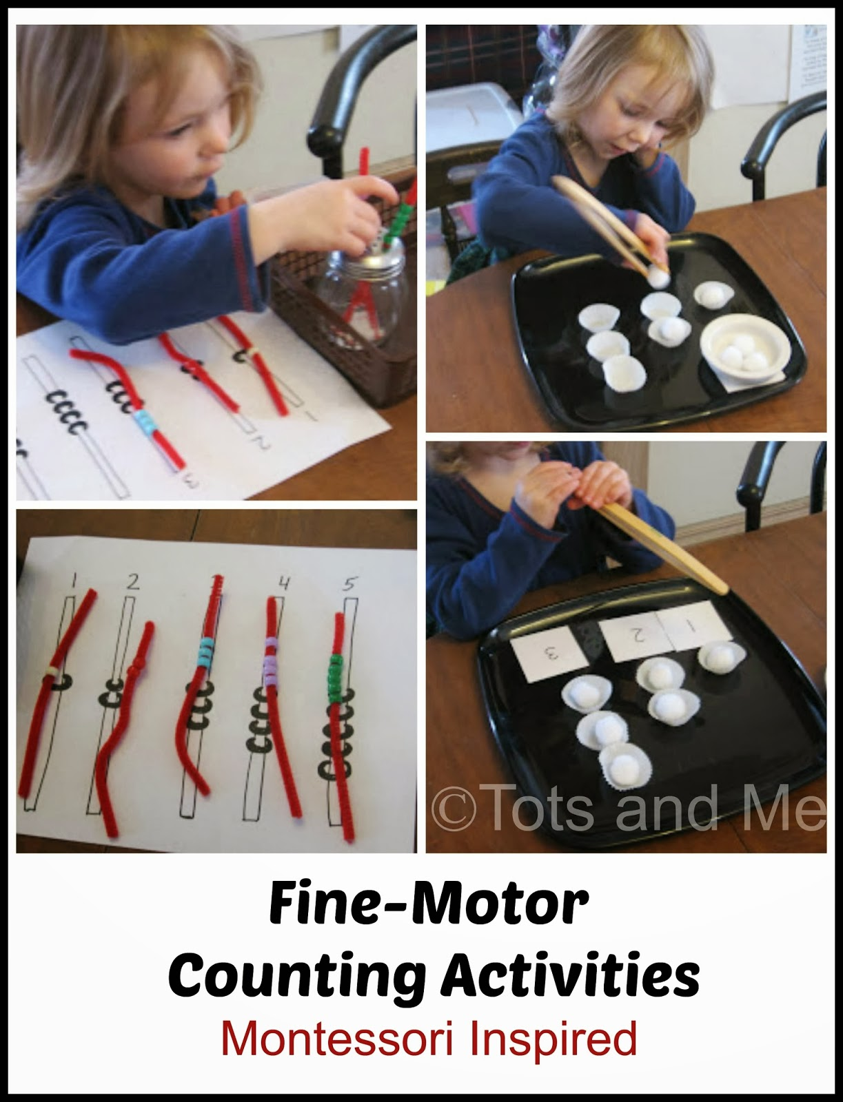Tots and me growing up together our montessori for Montessori fine motor skills