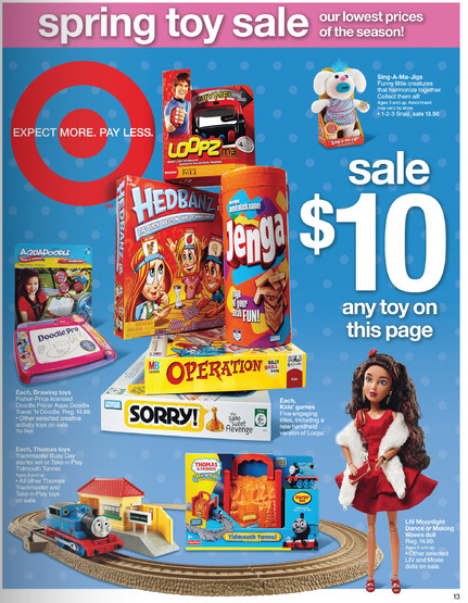 target coupons 10. -$3.00/1 Printable or 4/10 SS