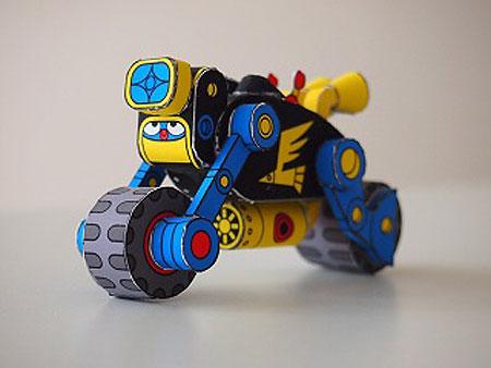 Robodatchi Robo Rider Papercraft
