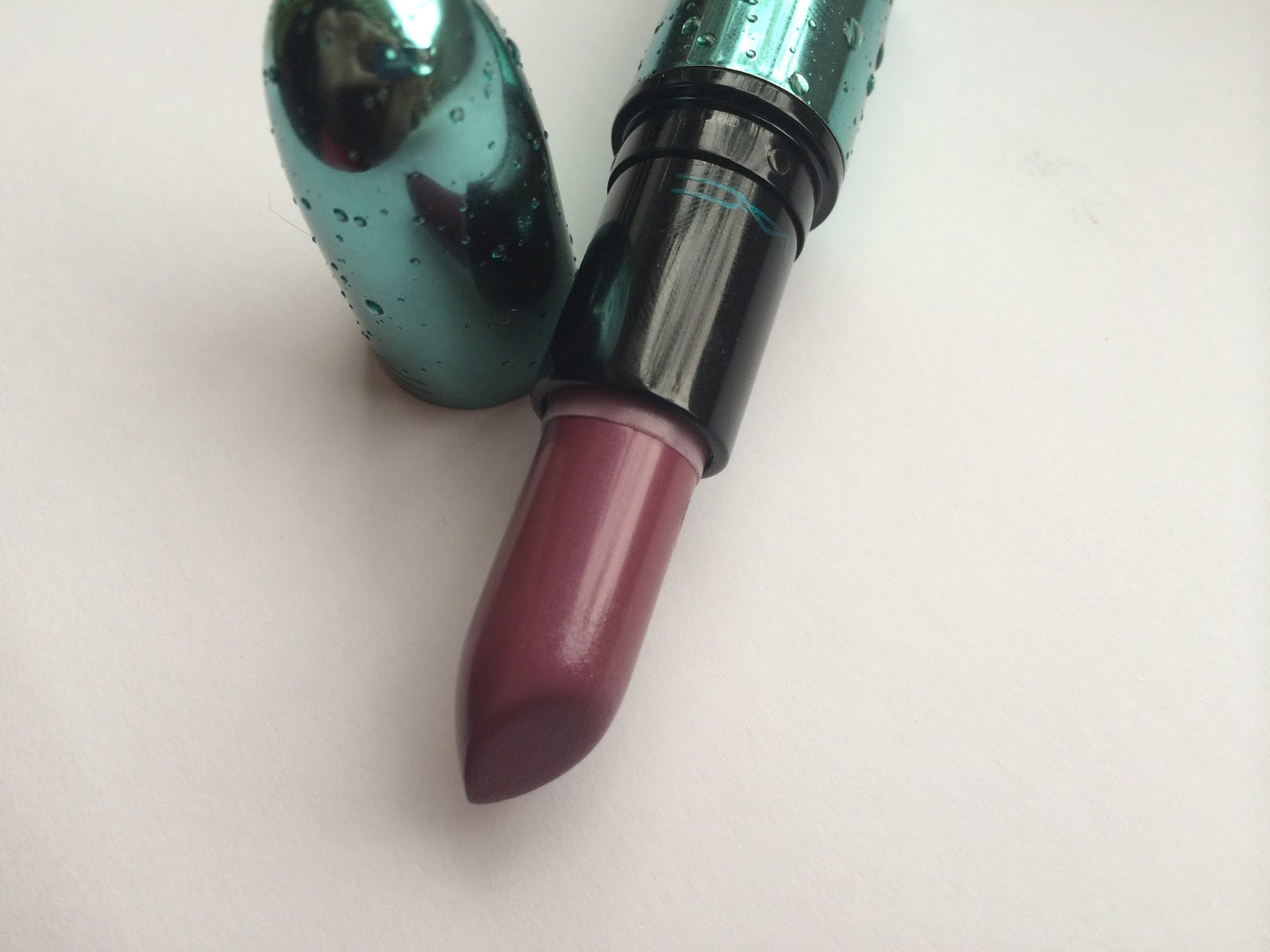 MAC Cosmetics Alluring Aquatic Goddess of the sea lipstick limited edition