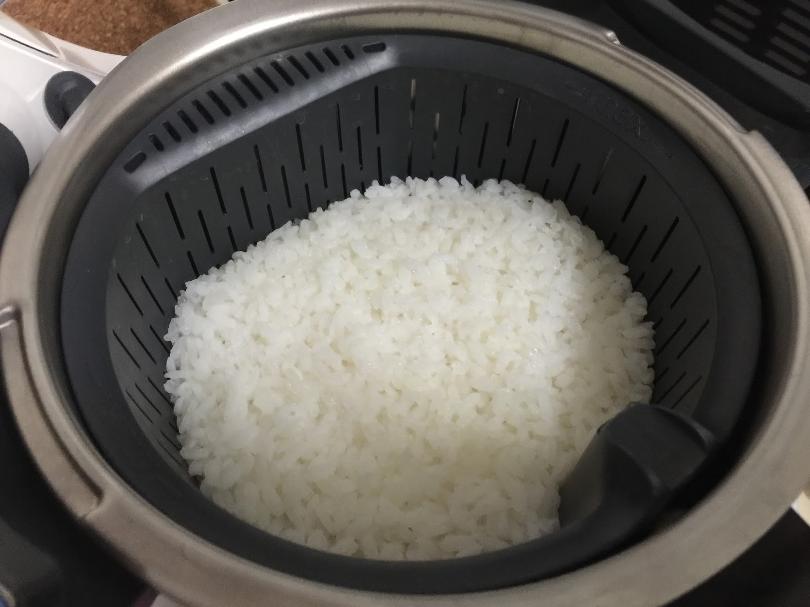 The Right To Be Alive Thermomix Steamed Rice