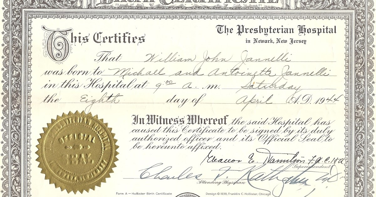 A Record Of Those Who Came Before Us William John Jannellis Birth