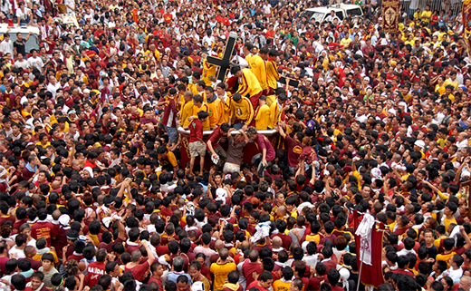 Black Nazarene 2016 Procession in Quiapo