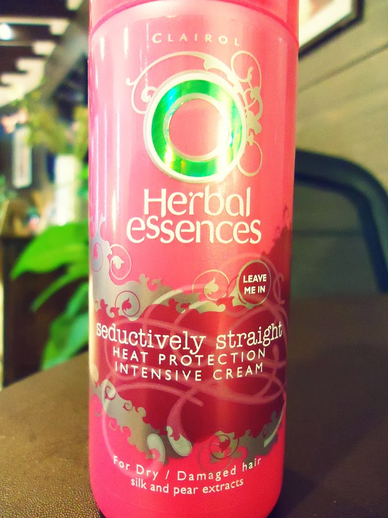 Herbal Essences Seductively Straight Heat Protection Intensive Cream