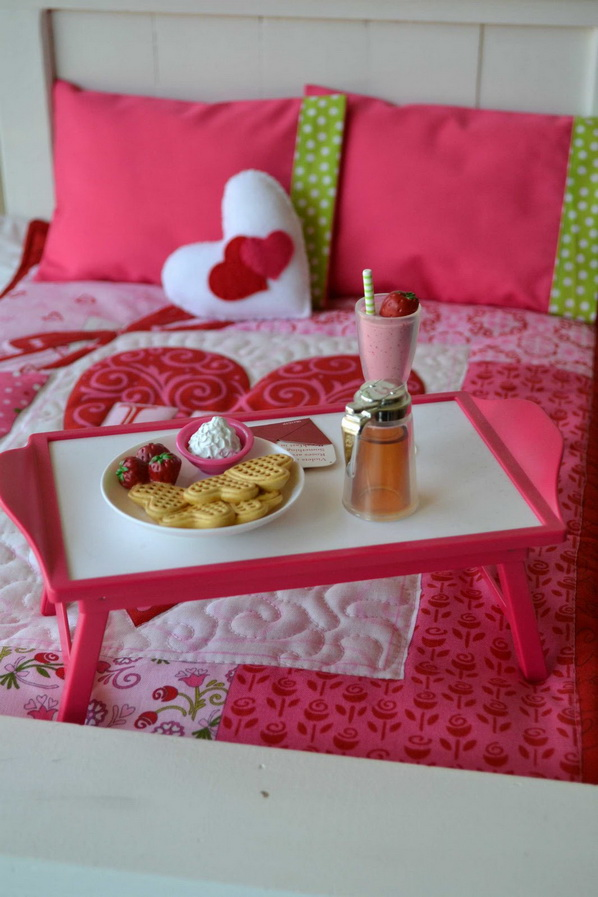 Deco chambre interieur d corations romantiques de la - Tete de lit en forme de coeur ...