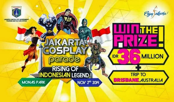 jakarta cosplay parade rising of indonesian legend