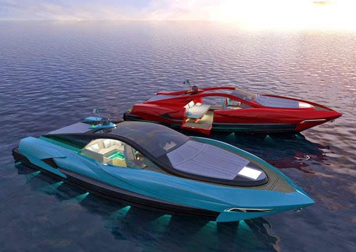 Most Luxurious Sporty Boat