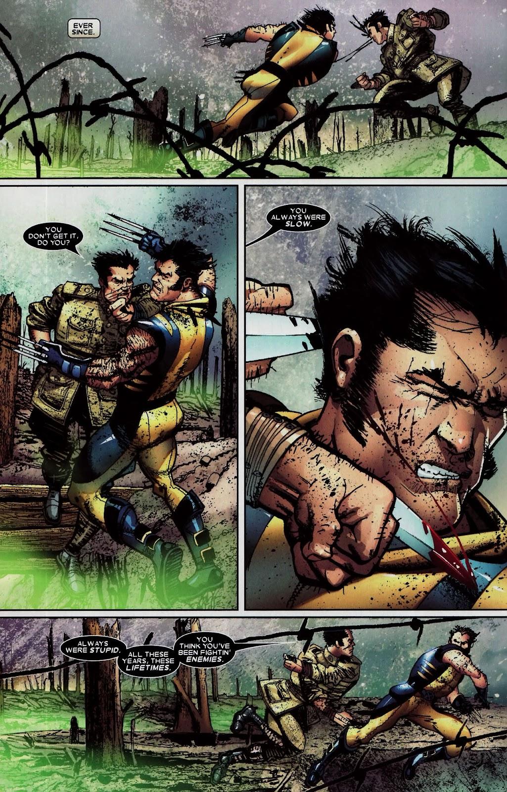 Read online Wolverine (2003) comic -  Issue #59 - 12