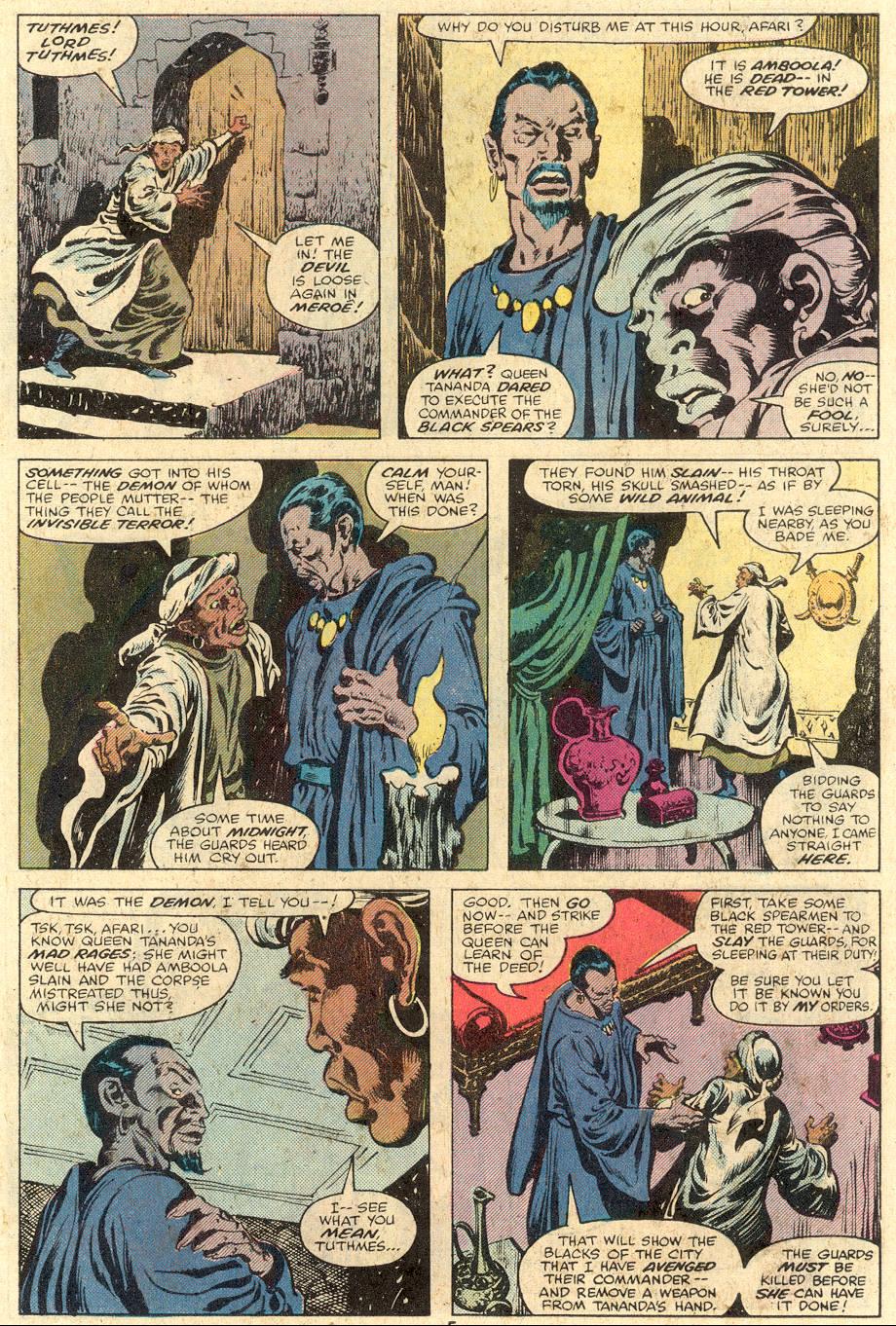 Conan the Barbarian (1970) Issue #106 #118 - English 5