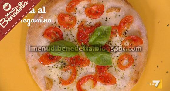 Pizza al tegamino la ricetta di benedetta parodi for Mozzarella in carrozza parodi