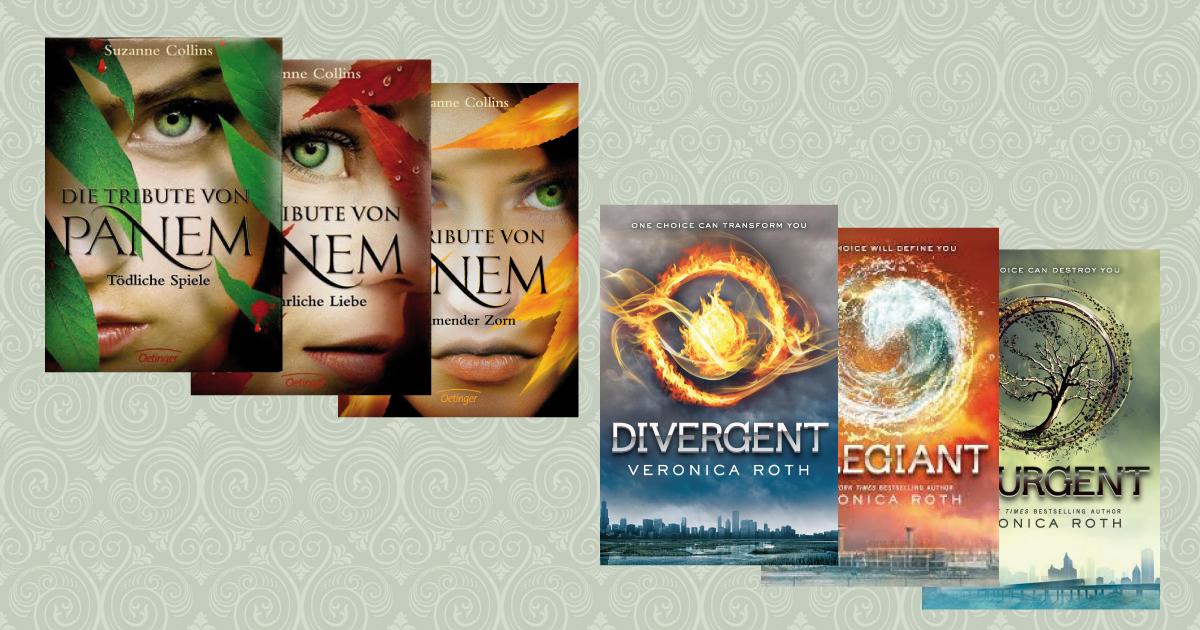 Trilogie Dystopie Tribute von Panem Divergent
