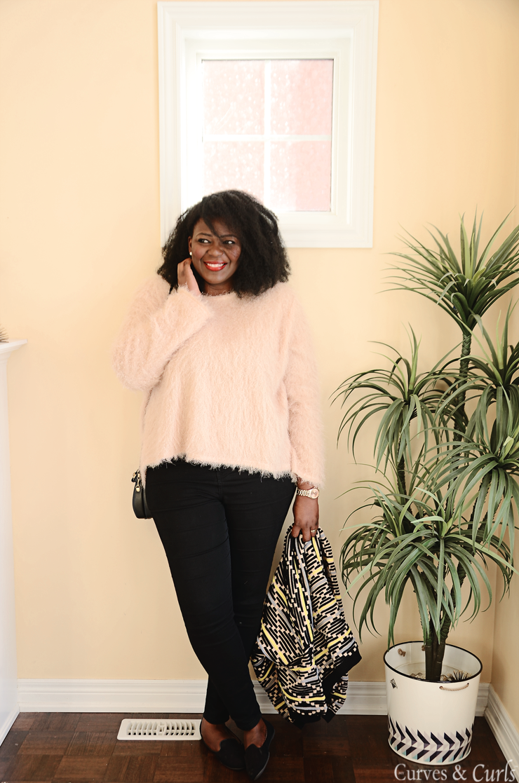 Plus size fashion for women Pattern knit cargidan #curves #mycurvesandcurls #Assacisse