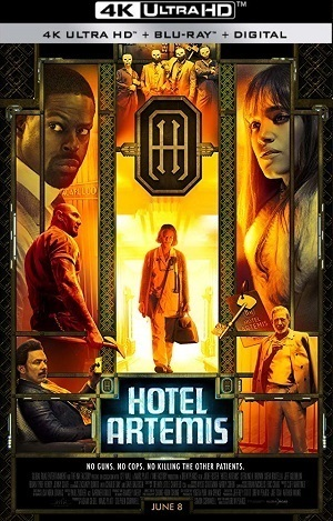 Hotel Artemis 4K Filmes Torrent Download capa