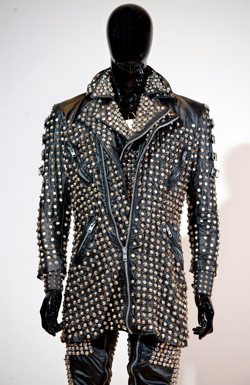 Rob Halford - Leather studded outfit