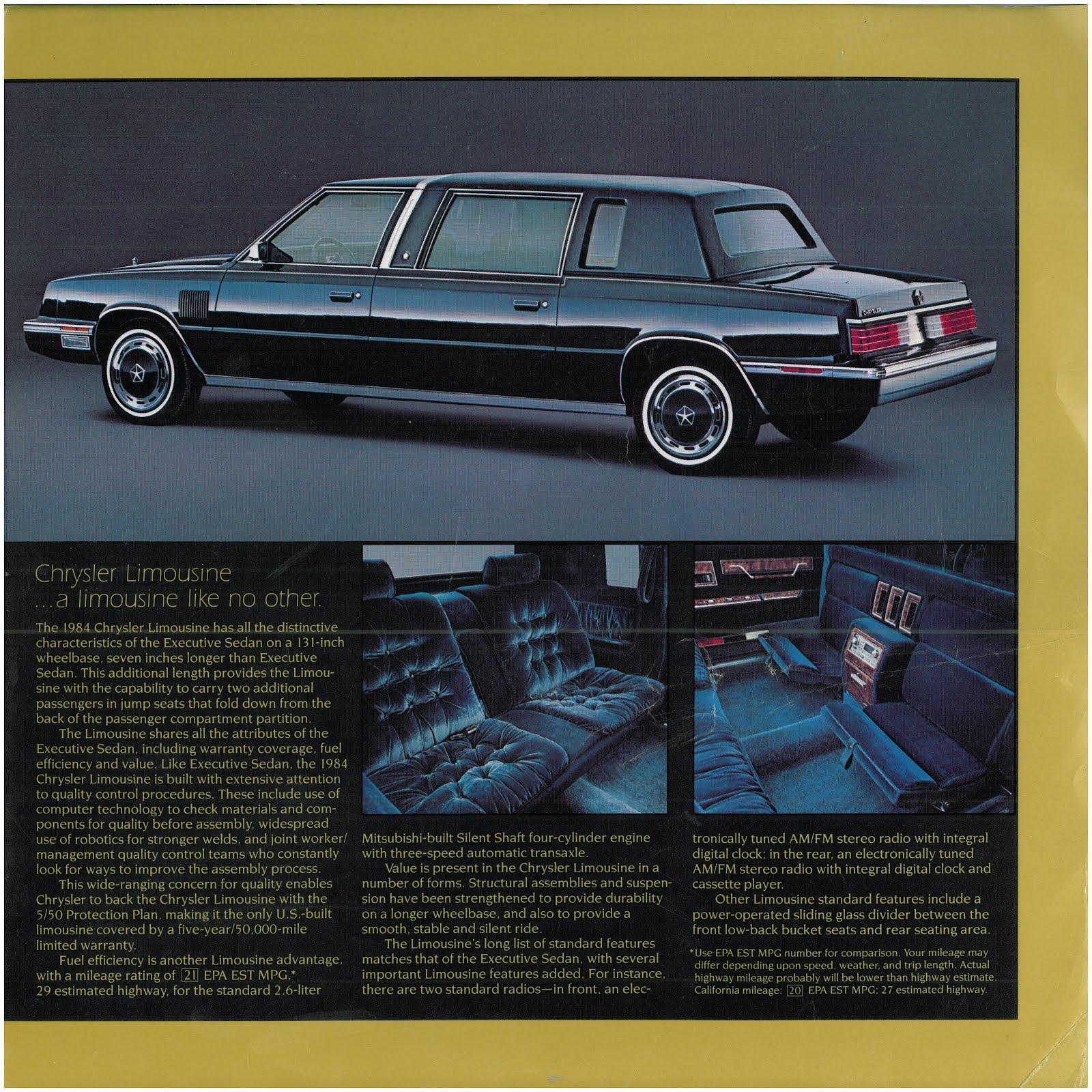 Chrysler Executive on chrysler new yorker, chrysler e-class, chrysler newport, chrysler valiant, chrysler airflow, chrysler saratoga, chrysler aspen, chrysler cordoba, chrysler airstream, chrysler lebaron, chrysler concorde, dodge st. regis, chrysler tc by maserati, chrysler 300 letter series, chrysler pt cruiser, chrysler imperial,