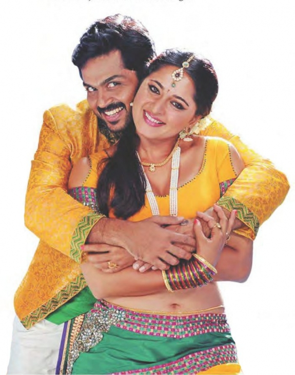Anushka, Karthi – Exclusive Alex Pandian Visuals