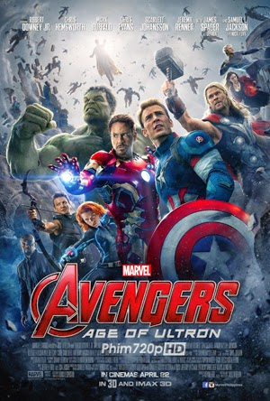 The Avengers: Age Of Ultron 2015 poster