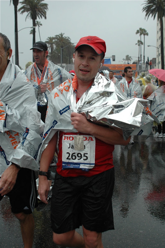 Jason after LA Marathon 2011