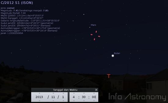 Komet ISON Sudah Bisa Dilihat di Langit!