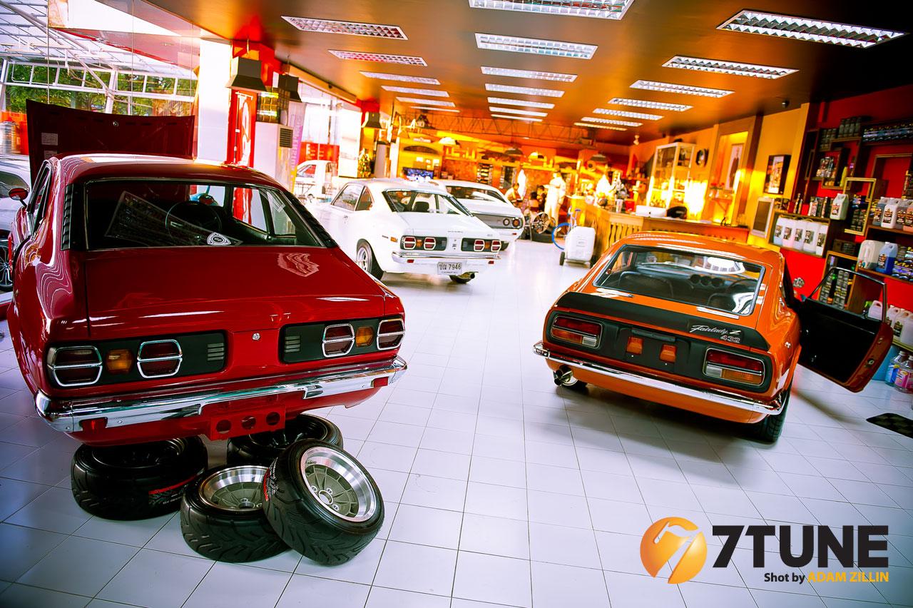 Mazda Savanna (RX-3)  &  Nissan Fairlady Z432 日本車, クラシックカー